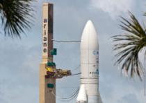 L'ATV s'envolera de Kourou à bord d'une Ariane 5 spéciale - © CNES/GIRARD, 2010