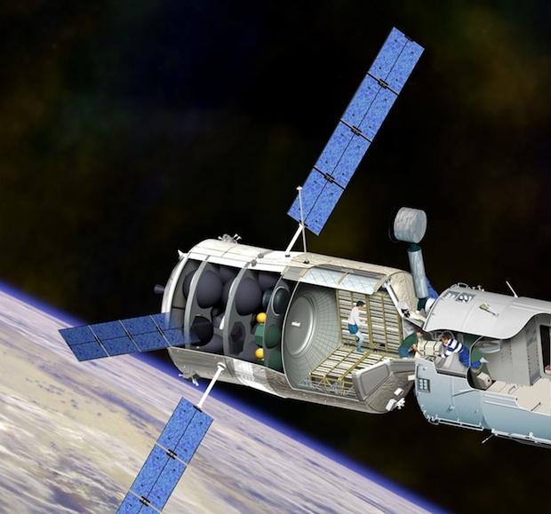 L'ATV est un véhicule de support propulsif de l'ISS - © ESA/DUCROS David, 2007